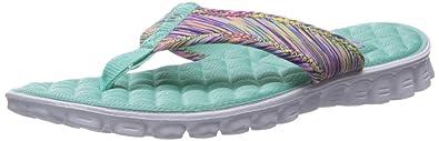 ae25f3d8ea3d Skechers Sport Women s EZ Flez Cool Flat Sandal