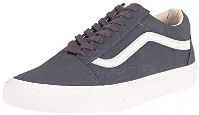 Patin Blanc Daim Skool Old Hommes Vans Charcoal FormateursAmazon BreWQdxCo
