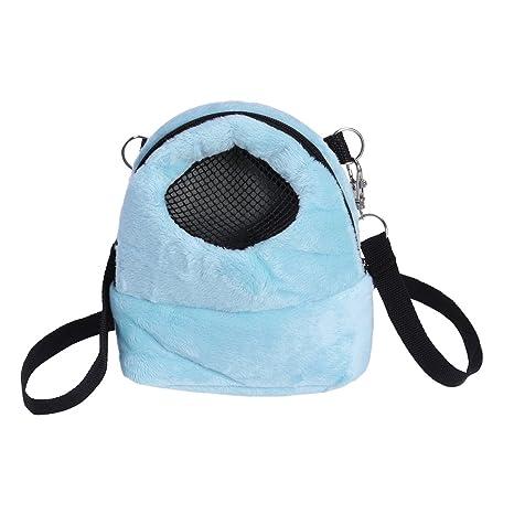 Peque/ñas bolsas de transporte de animales para mascotas bolsa de viaje port/átil transpirable bolsa de mano para h/ámster//erizo//conejo//az/úcar glider//ardilla//cobaya.