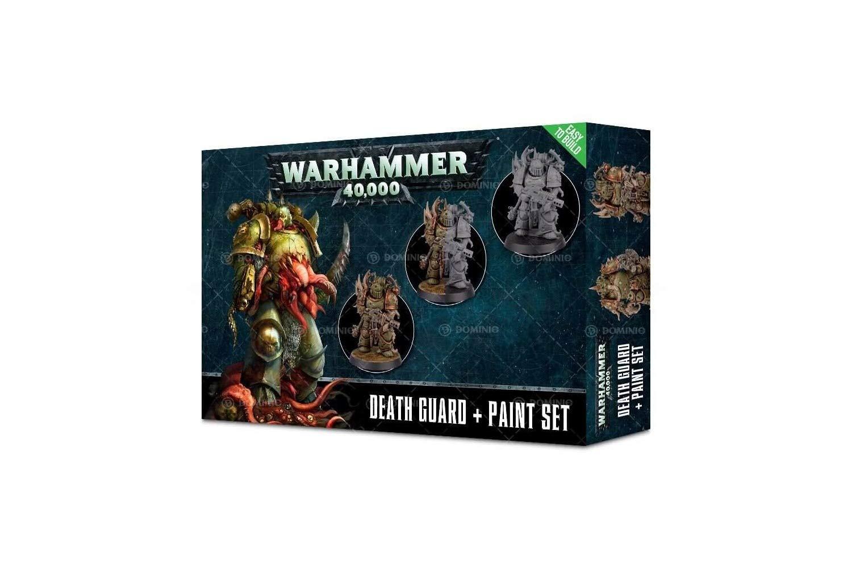 Games Workshop Chaos Space Marines Death Guard + Paint Set ...