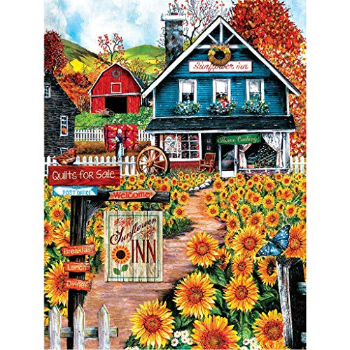 Diamond Painting Kits for Adults Full Drill, Cross Stitch Crystal Embroidery Rhinestones Craft Diamond Painting by Number Kits ()