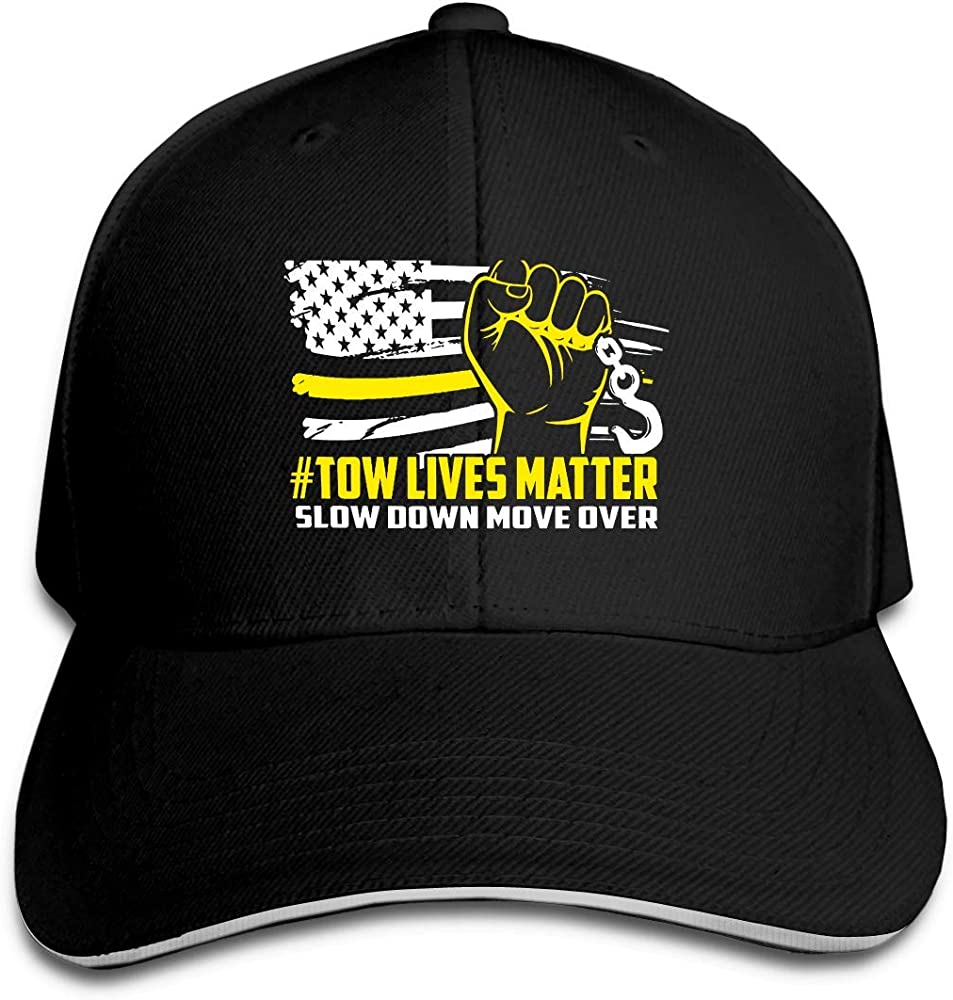 Novelcustom Tow Lives Matter Move Over Gorra Sandwich Ajustable ...