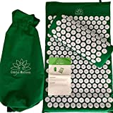 High Quality Acupressure Mat and Pillow-Upper and Lower Back Pain Relief in Minutes