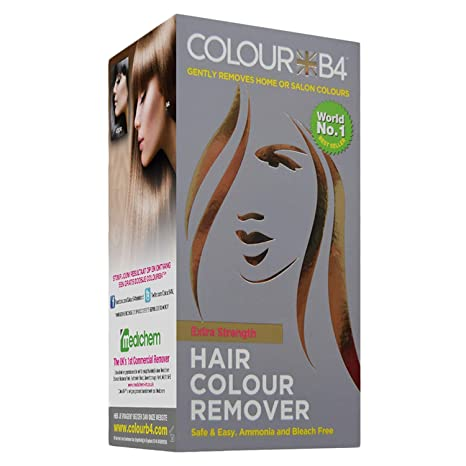b03be1310b Colour B4 Hair Colour Remover Extra Strength for Darker Hair Colours   Amazon.co.uk  Beauty