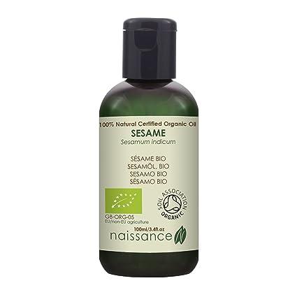 Naissance Sésamo BIO - Aceite Vegetal Prensado en Frío 100% Puro - Certificado Ecológico -