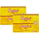 Grisi Sulfur Soap With Lanolin For Acne 2 Pack