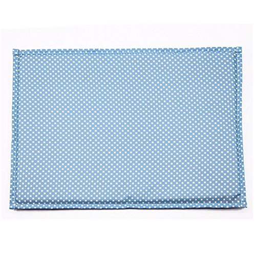 Hoxekle Bamboo Pet Dog Mat Summer Puppy Cooling Foldable Mat Pad Bed Blanket for Keeping Pets Cool in Summer, 1pcs by Hoxekle (Image #2)