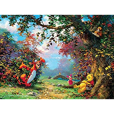 Ceaco Disney Winnie The Pooh Fine Art Poohs Afternoon Nap Puzzle 1000 Piece By Ceaco
