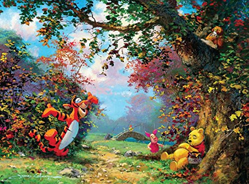 Ceaco Disney Winnie The Pooh Fine Art Pooh's Afternoon Nap Puzzle (1000 ()