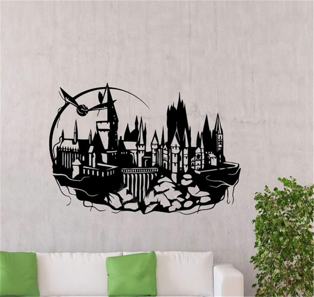 pegatinas de pared personalizadas Hogwarts Tatuajes de pared ...