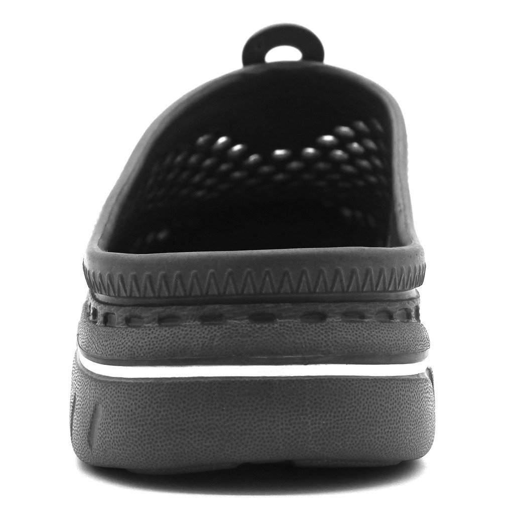 IVAO Unisex Garden Clog Shoes Sandal Quick Drying Gray 13 B(M) US Women / 11 D(M) US Men by IVAO (Image #7)