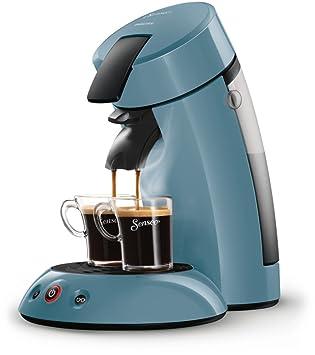 Senseo Original HD7804/20 - Cafetera (Independiente, Máquina de café en cápsulas, 0,7 L, De café molido, 1450 W, Azul): Amazon.es: Hogar