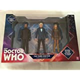 New Doctor Who The 3rd Doctor, The Master & Jo Grant Figure Collector Set Toy