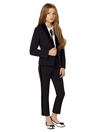 Paisley of London, Lennox Suit, Girls Three-Piece Tuxedo, Slim-Fit Party  Suit, 8-15 Years