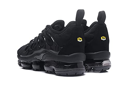 fee88b4146 Amazon.com | RUNSHOT Men's Air Vapormax Plus TN Running Shoe Basketball  Shoes -Full Black | Basketball