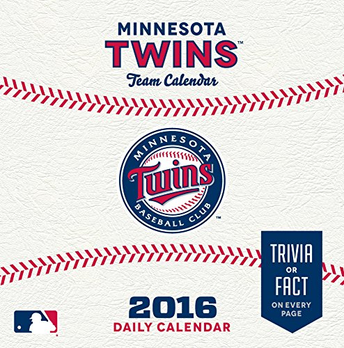 Turner Minnesota Twins 2016 Box Calendar, January-December (8051408)