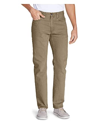 d04ad1cf741bbf Eddie Bauer Men's Flex Jeans - Slim Fit at Amazon Men's Clothing store: