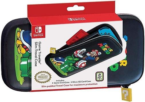 Nintendo Switch Game Traveler - Funda Switch (Delgada), diseño de Super Mario: Amazon.es: Electrónica