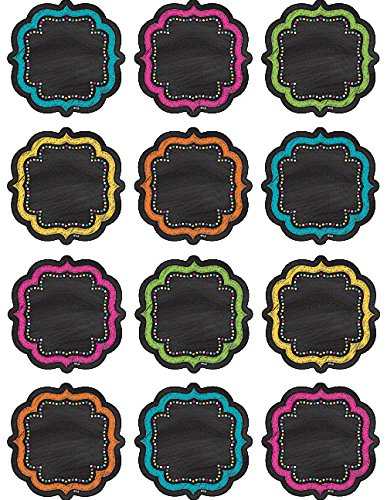(Teacher Created Resources Chalkboard Brights Mini Accents (5620))
