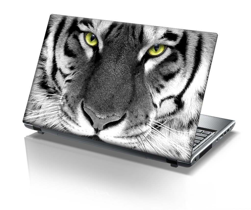 "12/"" Laptop Skin Cover Sticker Decal Leather Effect Made in the UK NEW DESIGNS"