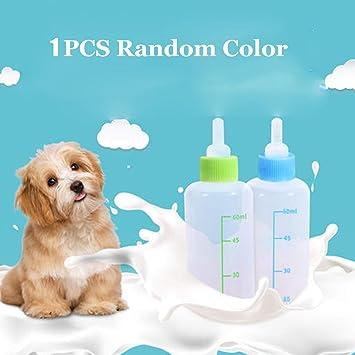 JAGENIE 60ml Puppy Kitten Feeding Bottle Pet Dog Cat Bady Nursing Water Milk Feeder