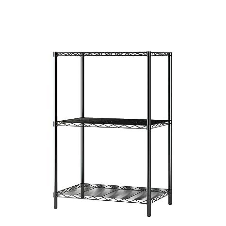 size 40 f7f4e 82b29 Home-Like 3 Tier Wire Storage Rack Wire Shelving Unit Multi Purpose Shelf  Storage Modern Storage Organization Rack Suitable For Kitchen Home Office  ...