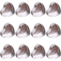 Yuxiale Heart Shape Candle Molds for DIY Christmas Holiday Gift Candle Making Kit Supplies