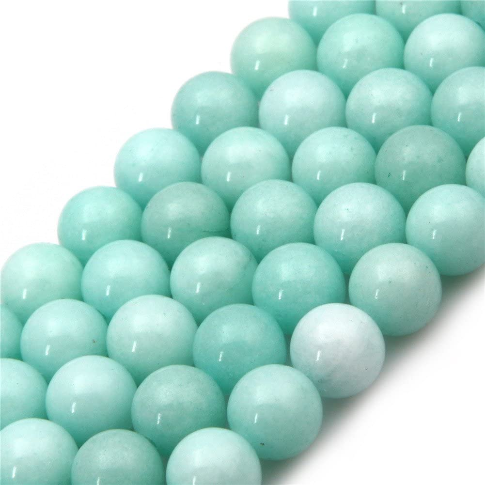 4MM YELLOW TURQUOISE GEMSTONE  ROUND LOOSE BEADS 15.5/""