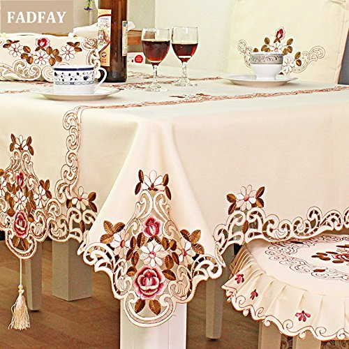 Table Cloth Rectangular Amazon Co Uk