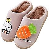 QZBAOSHU Inverno Pantofole Scarpe per Bambine e Ragazze Ragazzi Pantofole
