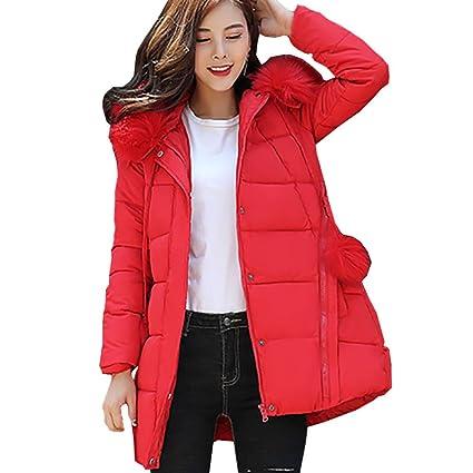 Amazon.com: Women Coat Godathe Women Solid Thicker Winter Slim Down Lammy Jacket Hair Collar Coat Overcoat M-XXXL: Clothing