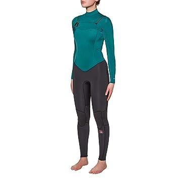3mm Synergy Chest Zip Neoprenanzug Black Sands BILLABONG Womens 4 Thermal Warm Heat Layer Schichten