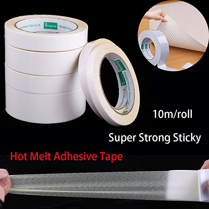 Faces Hot Melt Adhesive Tape Self-adhesive Pad Strong Sticky  Double Sided band