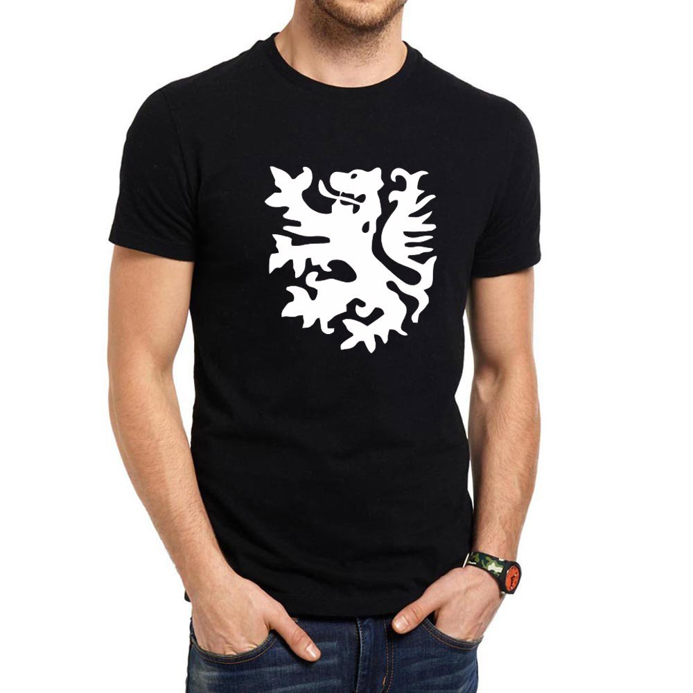 Loo Show S Netherlands Lion Casual T Shirts Tee