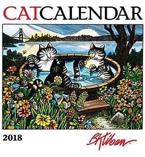 B Kliban 2018 Mini Wall Catcalendar