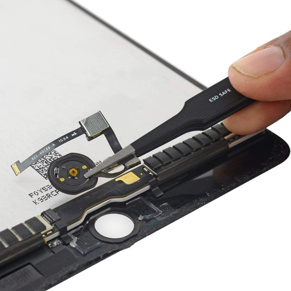 inkl Schraubenzieher MMOBIEL Home Button kompatibel mit iPad Mini 4 7.9 inch//Air 2 9,7 inch//Pro 12,9 inch 2015 Gold