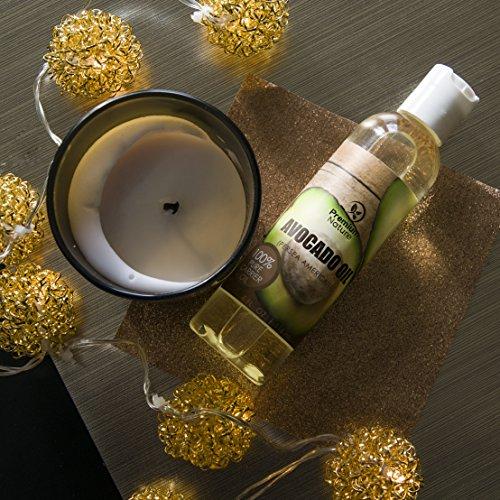 Avocado Carrier Oil - 4 Massage Oil Aging Skin - Skin Hair - Moisturizing Antioxidant Prevents Irritated Prone Skin