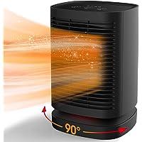 Uvistare Calefactor Eléctrico Portátil Calentador 950W Calefactor de Aire Caliente Termoventiladores de Ventilador Calentador…