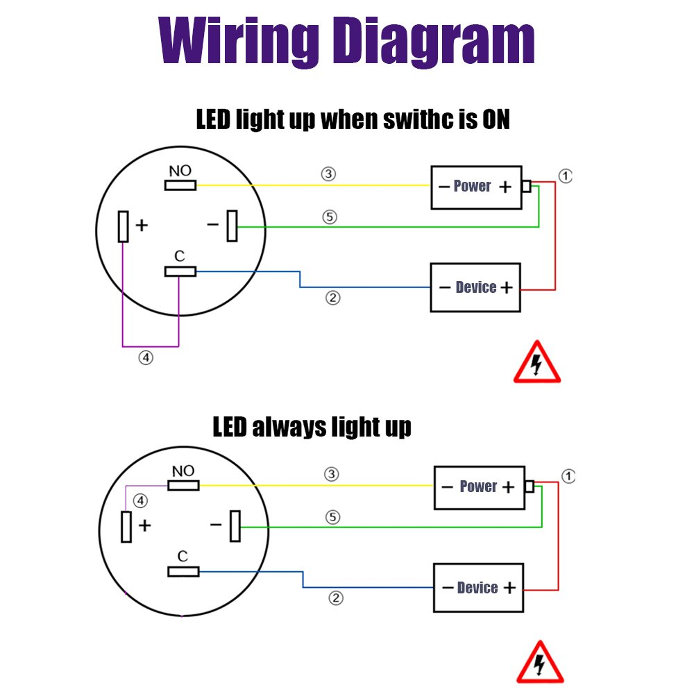 spst lighted rocker switch wiring diagram lighted momentary switch wiring diagram yakamoz 12mm 1/2
