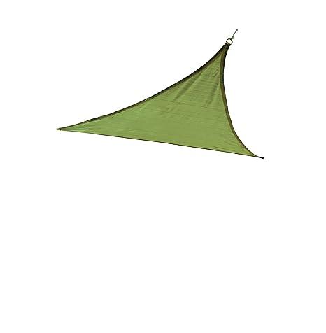Amazon Com Shelterlogic Triangle Shade Sail Lime Green 12 X 12 X