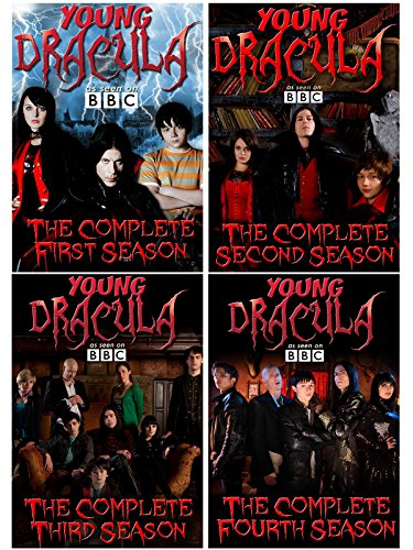 Young Dracula - The BBC Series: Complete Seasons 1, 2, 3, 4 (54 Episodes) - 12 DVD Collection