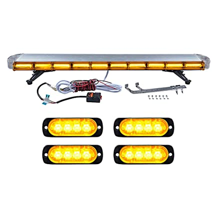 1pc Car Waterproof Auto Emergency Flash Strobe Rotating Beacon Light Led Amber Signal Light Dc12v Ip65 Rv Accessories Atv,rv,boat & Other Vehicle