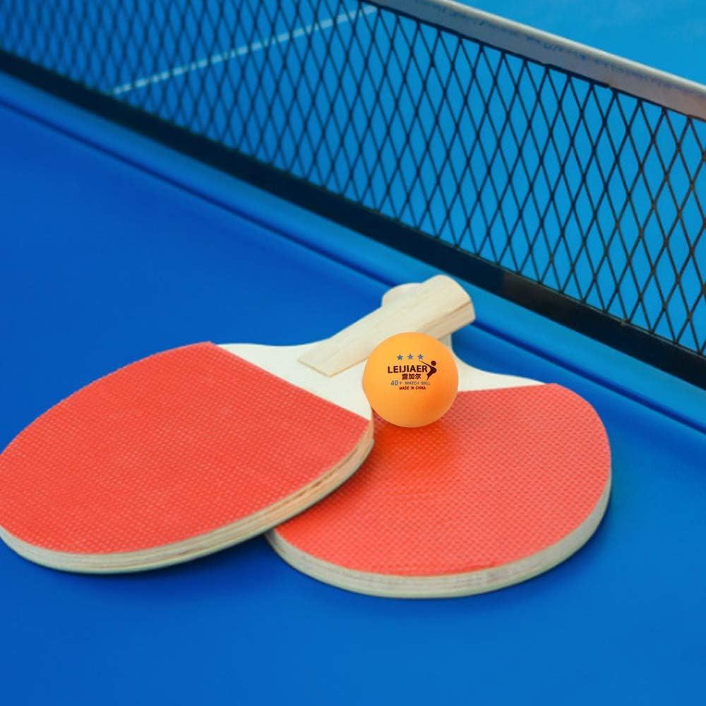 Godyluck 6Pcs 1//2//3-Star 40mm Table Tennis Balls Bolas de Ping-Pong Pr/áctica de Bolas