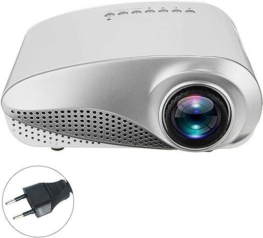 Mini proyector 3D Full HD 1080P, USB/HD/VGA Proyector LED TV LED ...
