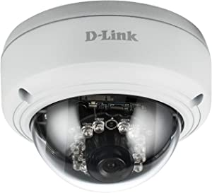 D-Link Surveillance System DCS-4603 Indoor PoE Dome Security Camera Day & Night Vision 3MP 1080P Full HD
