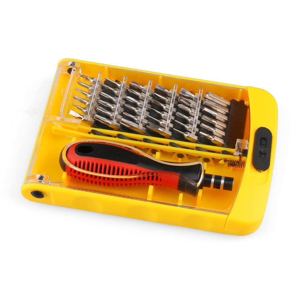 Portable Screwdriver Set Kit, Premium 37 in 1 Magnetic Precision Repair Tool Kit Screwdriver Kit for Home Appliance Repairing,Phone,Furniture,PC,Tablet,Cellphone By Wishesport