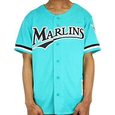 f37a0b52046 Image Unavailable. Image not available for. Color  Mitchell   Ness Marlins  Andre Daws