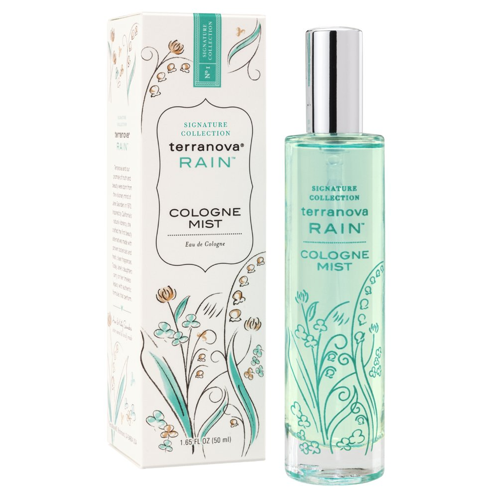 Terranova Rain Cologne Mist 1.65 oz spray