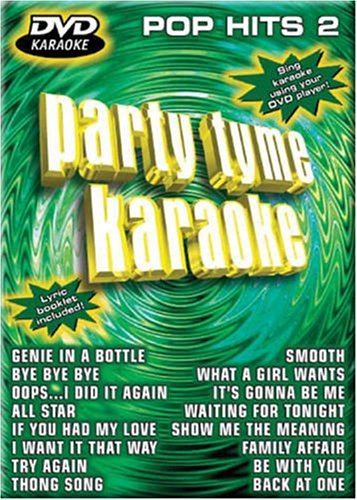 Party Tyme Karaoke: Pop Hits, Vol. 2 (Party Tyme Karaoke Dvd)