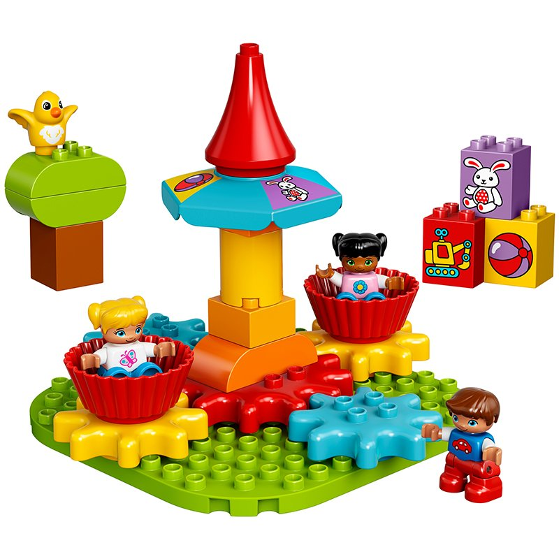 LEGO 10845 Duplo My First Carousel Educational Toy: LEGO: Amazon.co ...